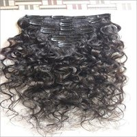 Natural Raw Unprocessed Wavy Clip In Hair