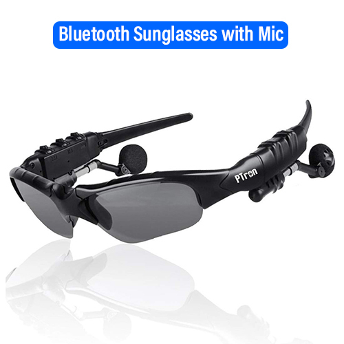 pTron Viki Stereo Bluetooth Earphones Sunglasses with Mic