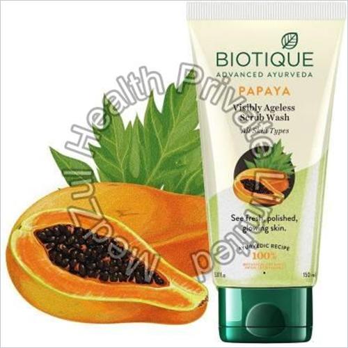 Biotique Papaya Visibly Ageless Scrub Wash