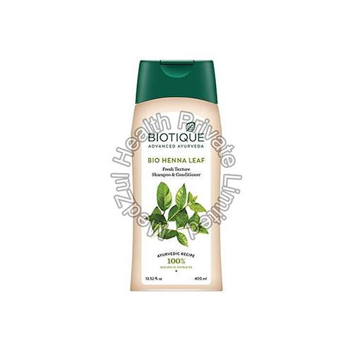 Biotique Bio Henna Leaf Fresh Texture Shampoo