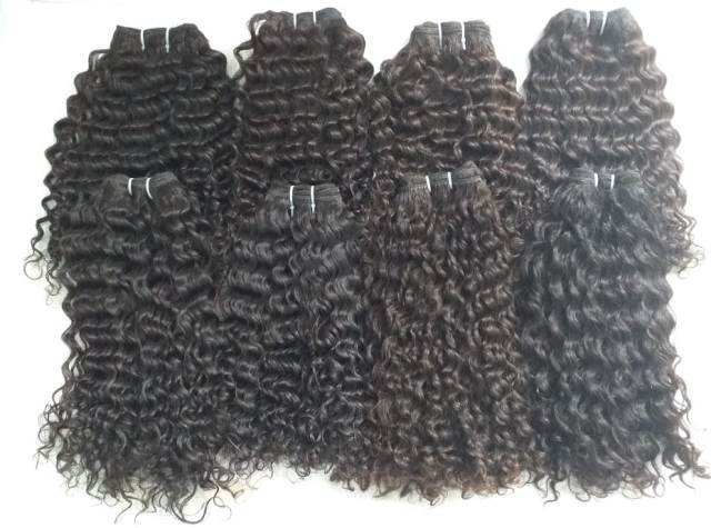 Brazillian Virgin curly Hair bundle with closure