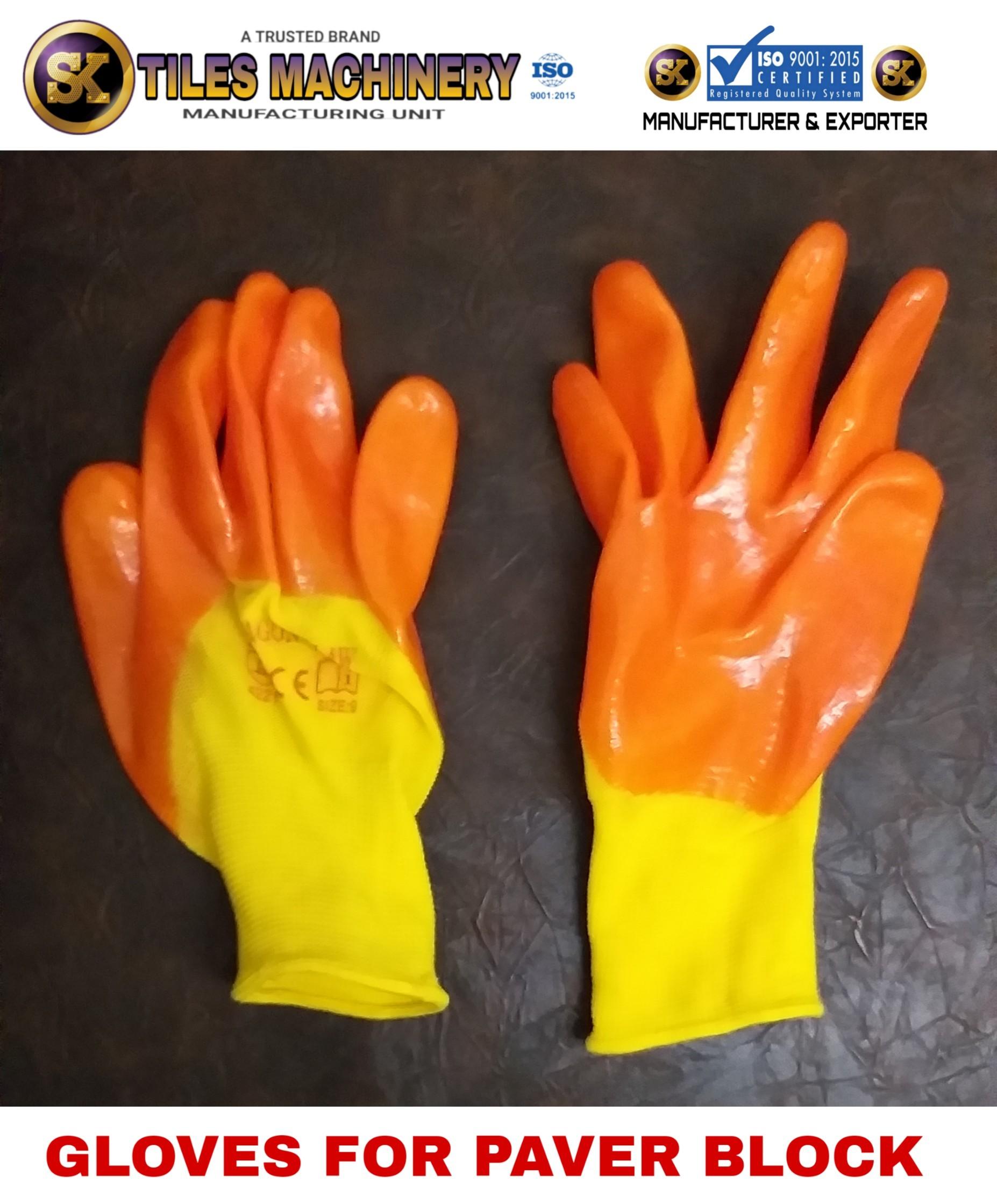 Paver Block Lifting Gloves
