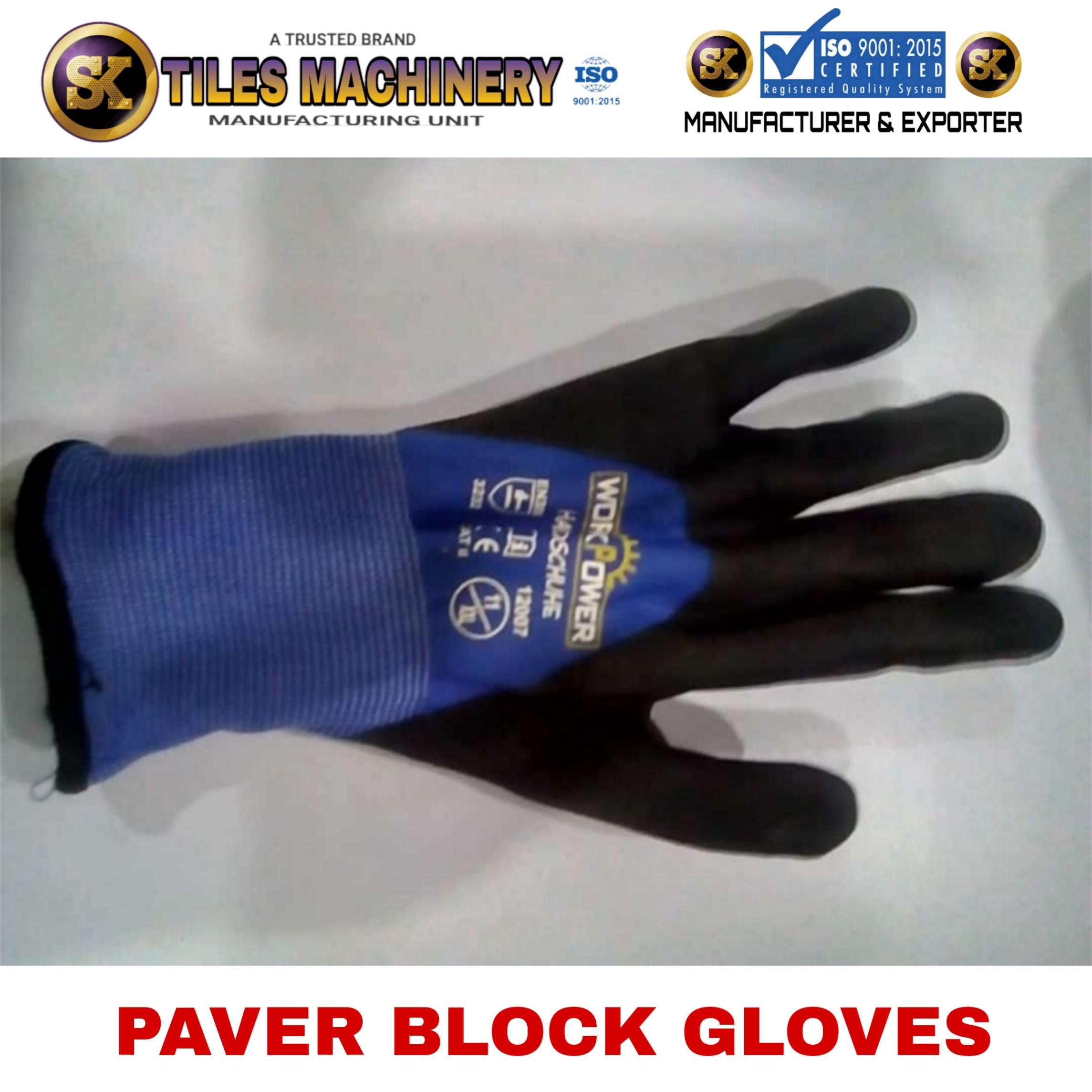 Rubber Gloves For Paver Block