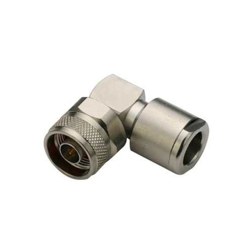 Angled Male Clamp Type N Connector