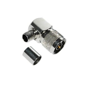RG 213 Angled Male Crimp Type N Connector