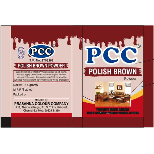 Pcc Polish Powder Pouches