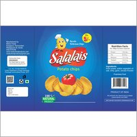 Salalais Rs 5 Small Pack 3 Chips Packing Cover