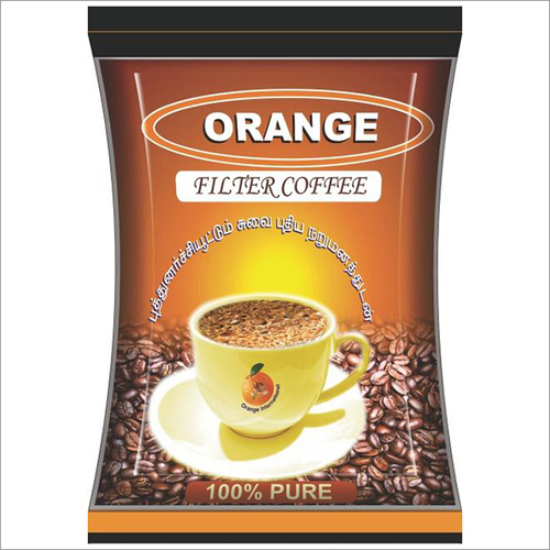 Orange Coffee Pouches