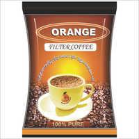 Orange Coffee Pouches