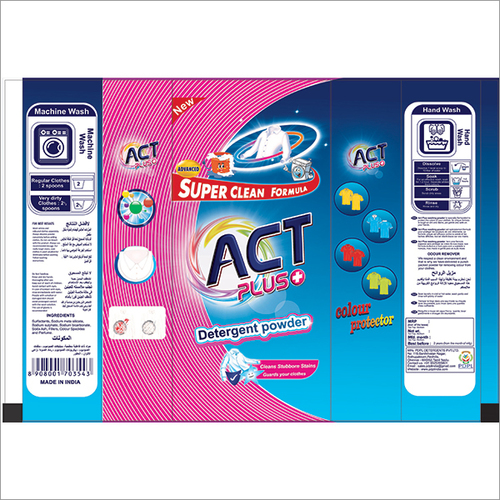 Act Plus Detergent Powder 1kg Pouch