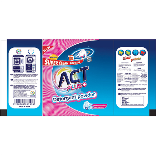 Act Plus Detergent Powder 500g Pouch