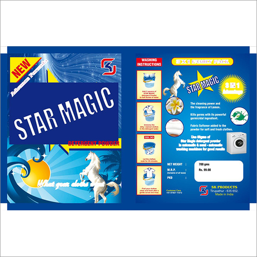 Star Magic Detergent Powder Pouch
