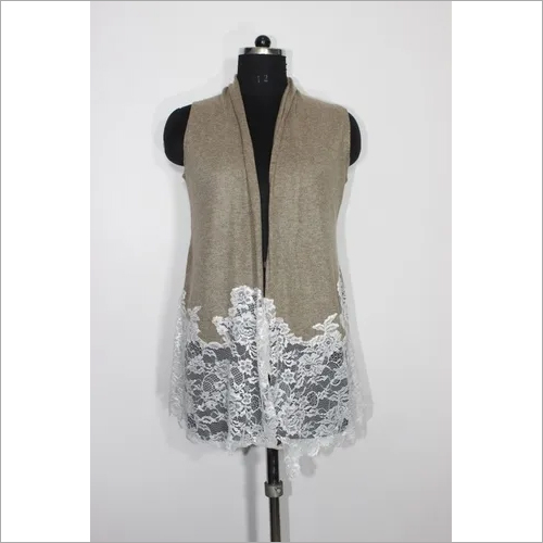 Ladies Knitted Lace Shrugs