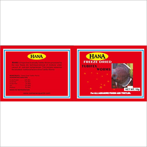 Hana Freeze Dried Fish Food Pouche