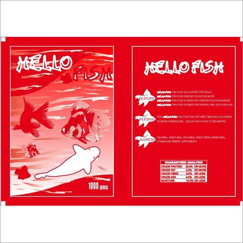 Hello Fish Food Pouche