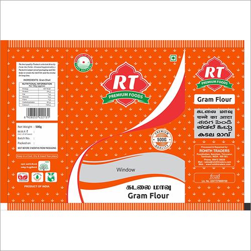 RT Gram Flour Packing Pouche