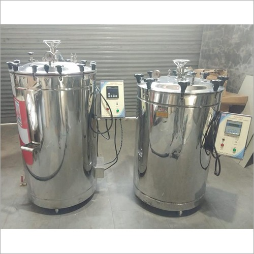 215 Ltr Vertical High Pressure Steam Sterilizer Autoclave