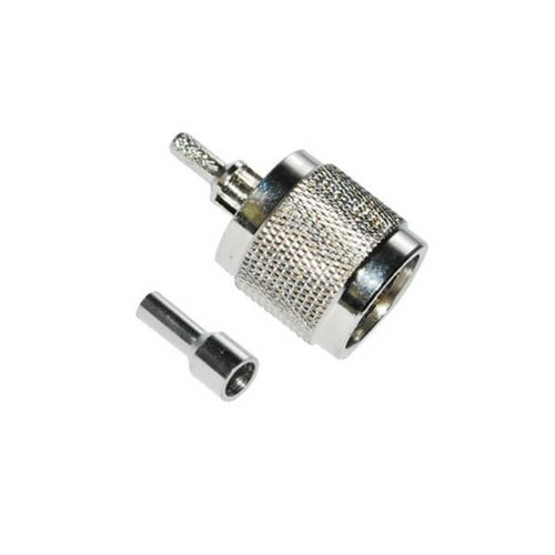 RG58 N Connector Straight Male Crimp Type