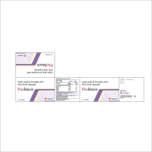 Lactic Acid - B Complex With Folic Acid Capsules