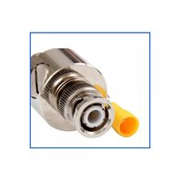 BNC Male To Female DC-3GHz Straight Coaxial RF Surge Protector IP67 BNC-JK