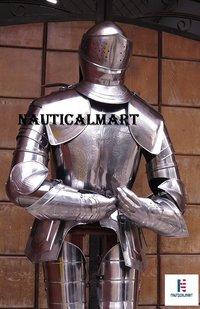 NauticalMart Medieval 16th Century Spanish Larp Knight Suit Of Armor