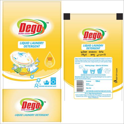 Liquid Detergent Pouch