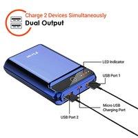 pTron Dynamo 10000mAh 2.4A Ultra-Compact Power Bank with 2 USB Ports