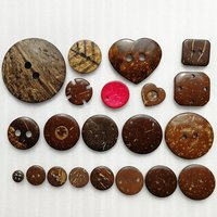 Natural Button Eco-Friendly Coconut Button for Garment HD03-A