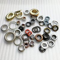 Fashion Custom Metal/Brass Button Mesh Eyelet