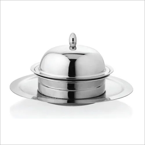 Butter Dish with Drainer 14 x 8.4 cm