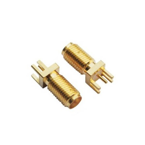 SMA Connector Female Cirmp Type Cable Blukhead Panel Mount