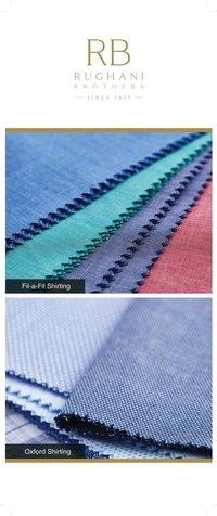Polyester Cotton Yarn Dyed Shirting Fabric