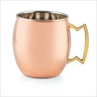 Beer Mug Copper Plain & Hammered 610 ml