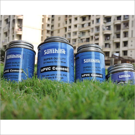 Heavy Duty Blue UPVC Cement