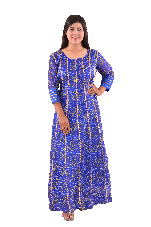 Ethnic Wear Gown