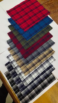 Cotton Yarn Dyed Shirting Fabric