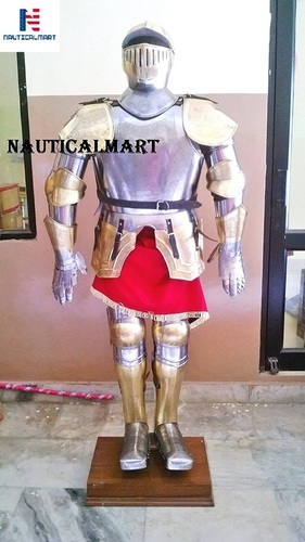 Knight suit of armor