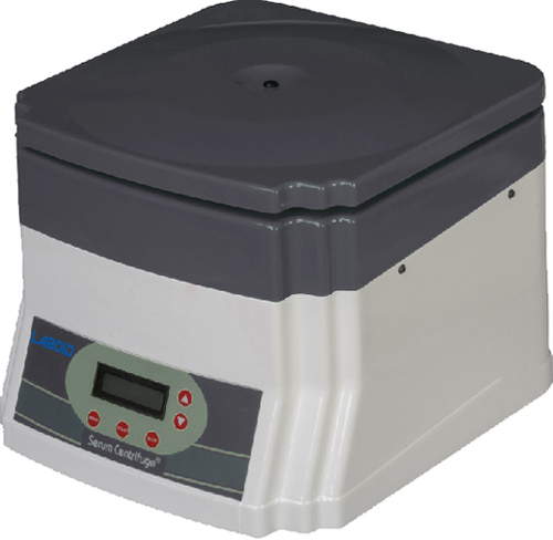 Microprocessor Based Serum Centrifuge