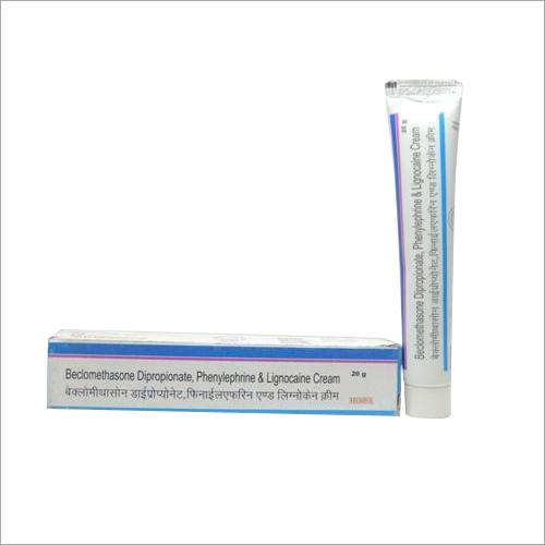 Beclomethasone Dipropionate Phenylephrine And Lignocaine Cream