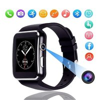 pTron Rhythm Bluetooth Smartwatch with Color Touch Display & Camera