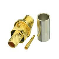 SMA Connector Types Female Straight For RG8 Cable