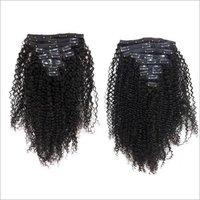 Kinky Curly Clip-in Human Hair