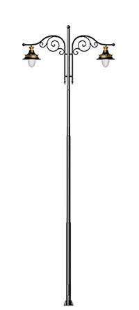 decorative street light pole