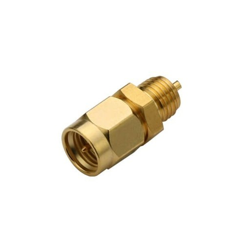 SMA Straight Bulkhead Plug Gold Plated Connector