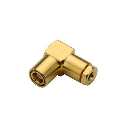 SMB Connector Angled Male Clamp Type For Cable RG178