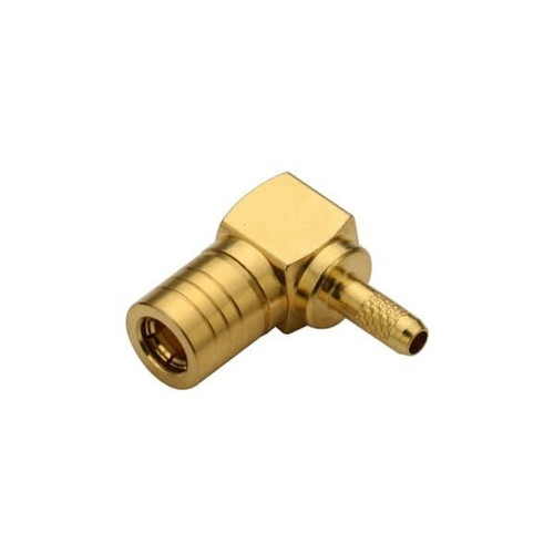 SMB Connector Right Angle Plug For Cable RG178