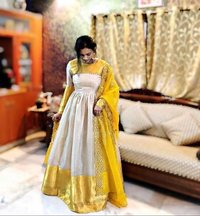 Fancy Ladies Long Gown