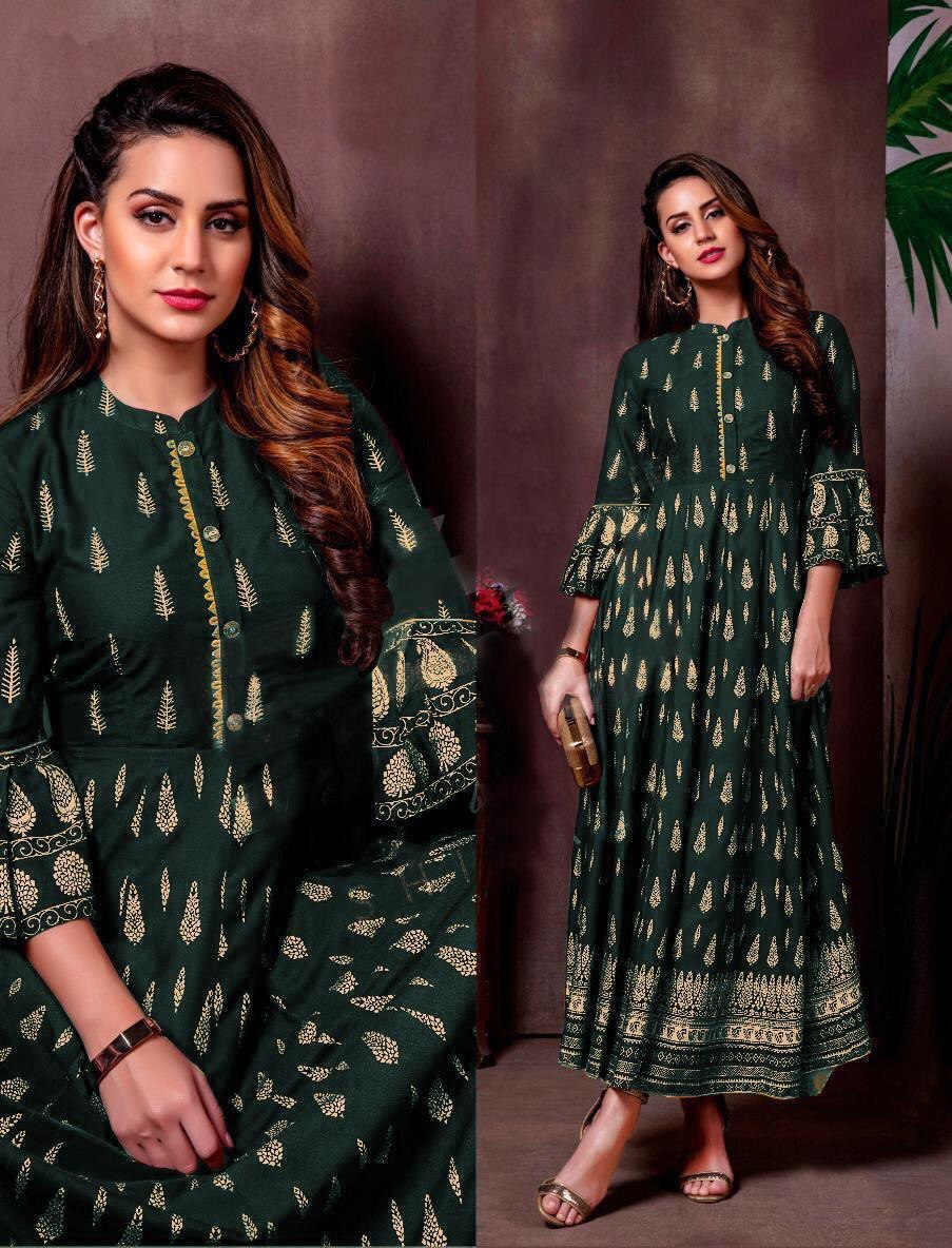 Long Party wear Kurti