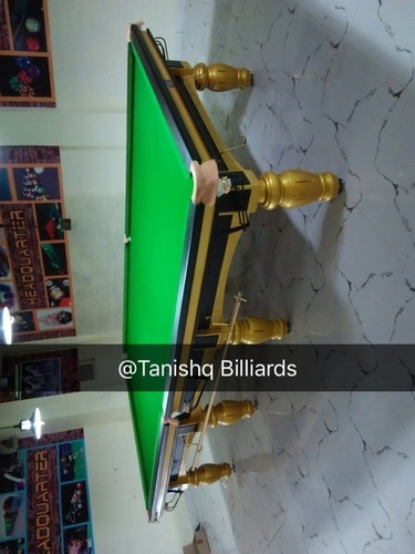 Antique Custom Snooker Table