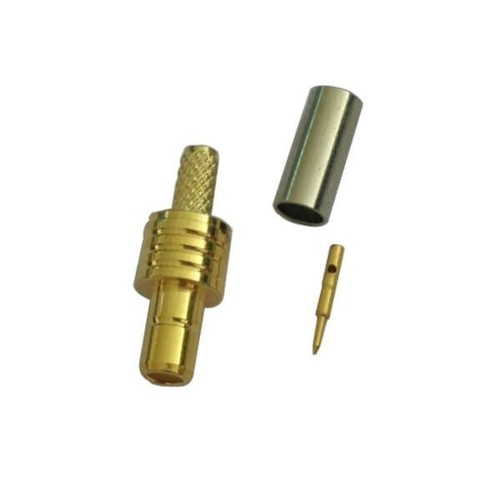SMB Connector Jack Straight Crimp Type For Cable RG316
